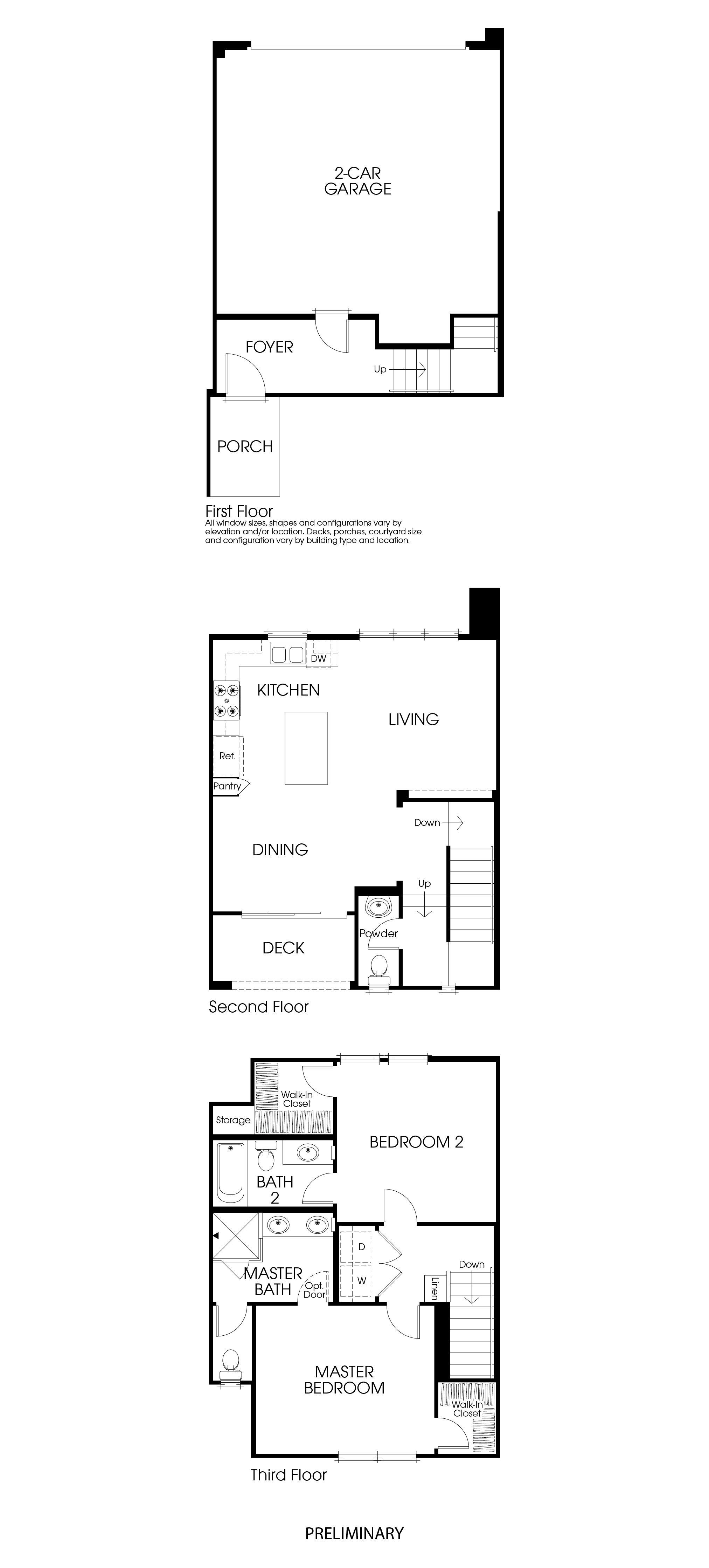 California Pacific Homes – Pacific Homes Floor Plans