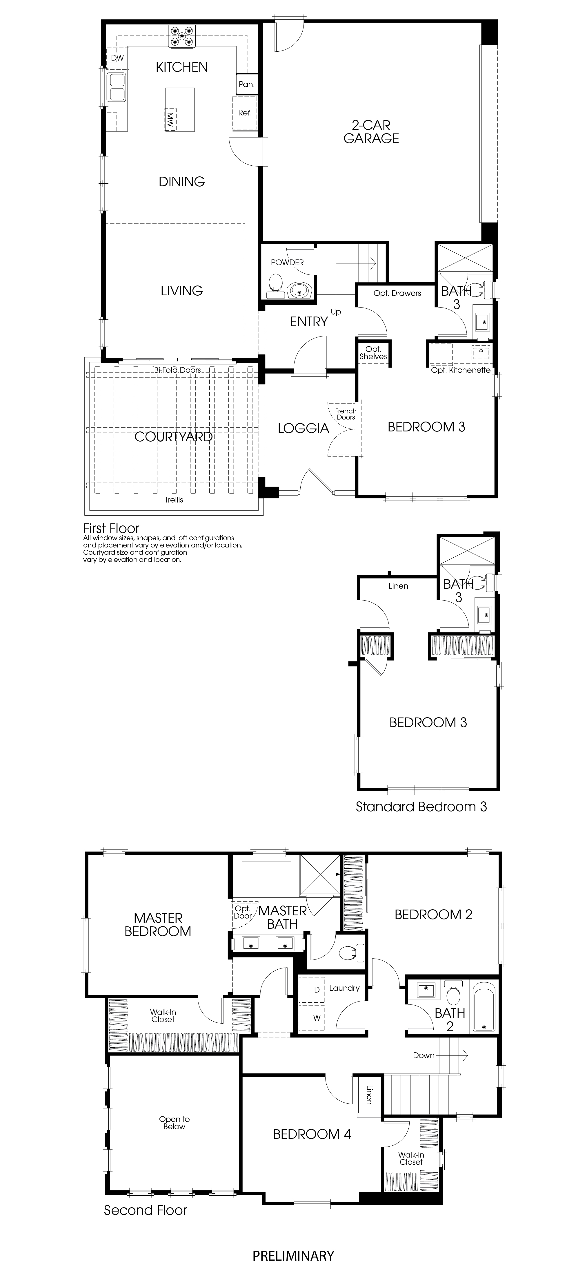 Homesite 54 Floorplan