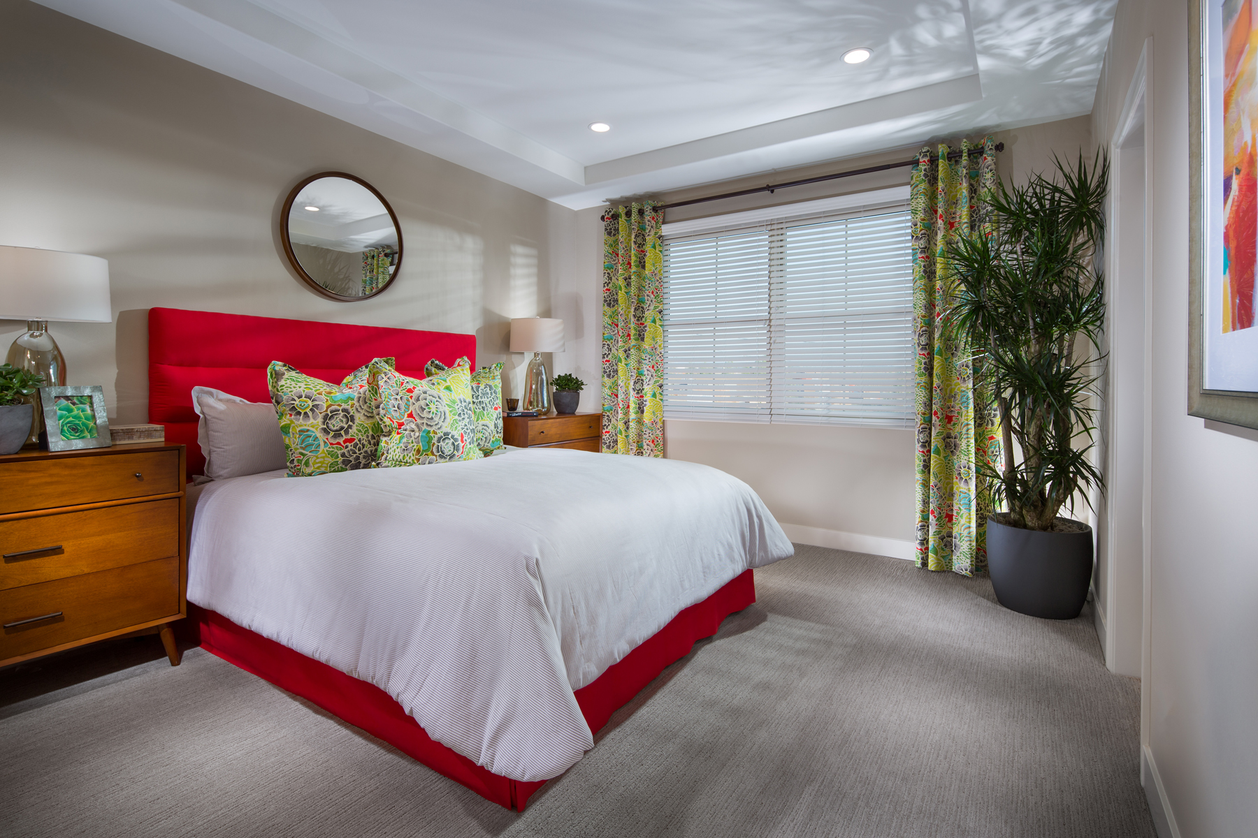 Plan 1 Master Bedroom