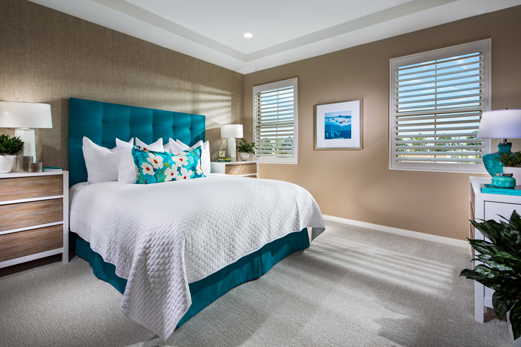 Plan 2 Master Bedroom